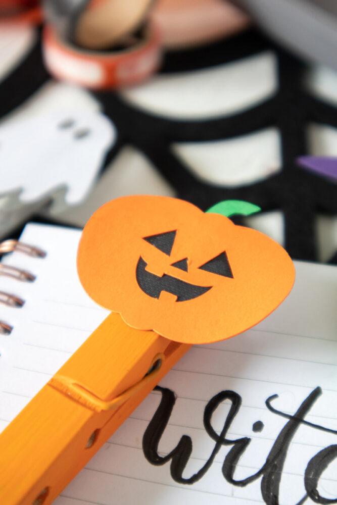Pumpkin Halloween Craft