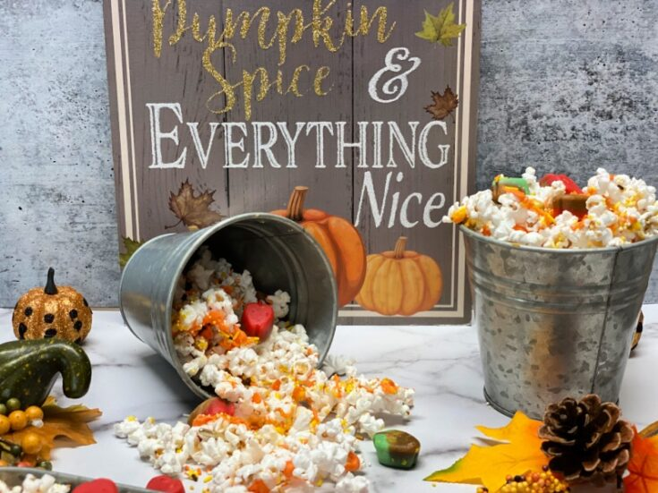 Fall Harvest Munch Popcorn