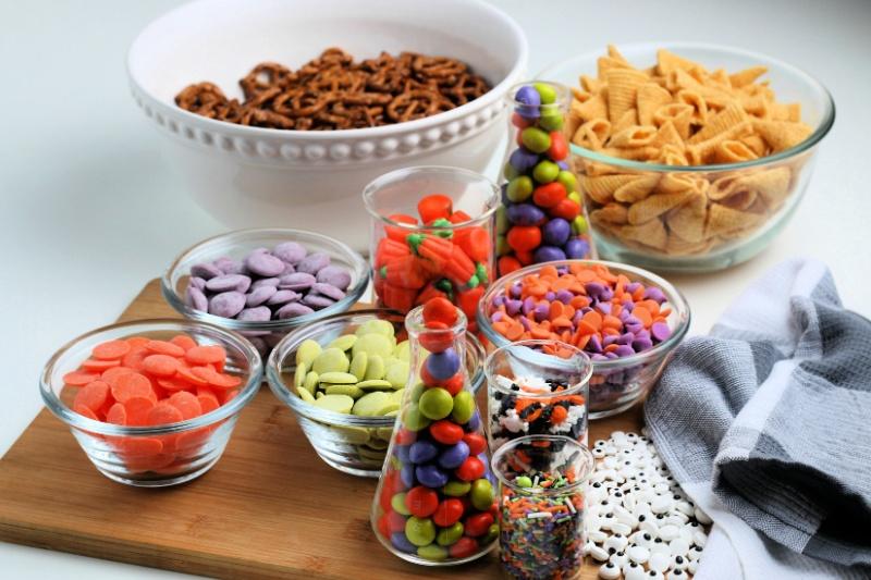 Halloween Snack ingredients