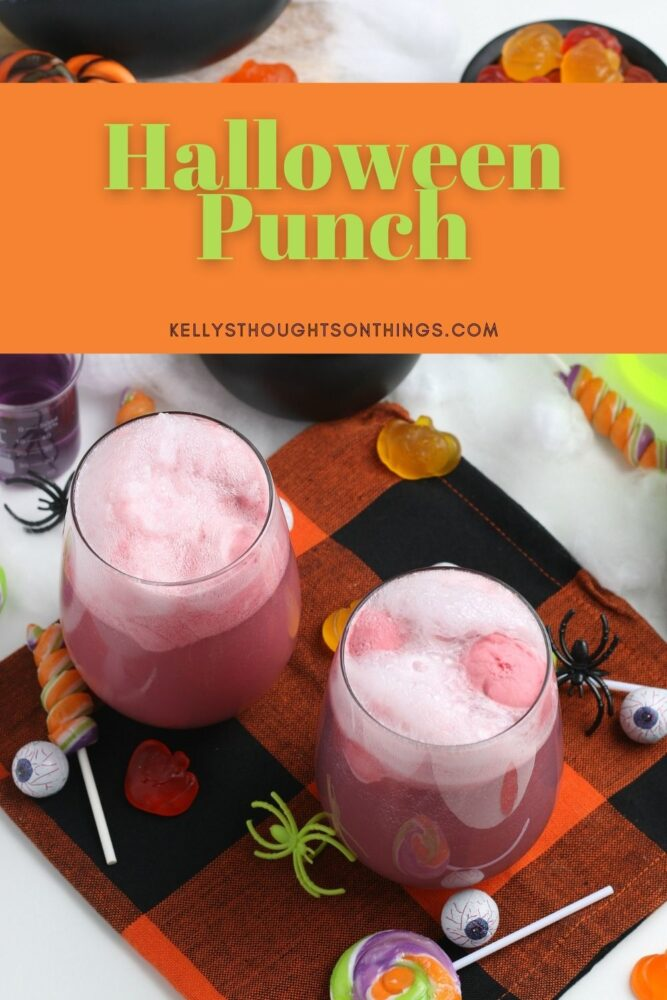 Halloween Punch Pin