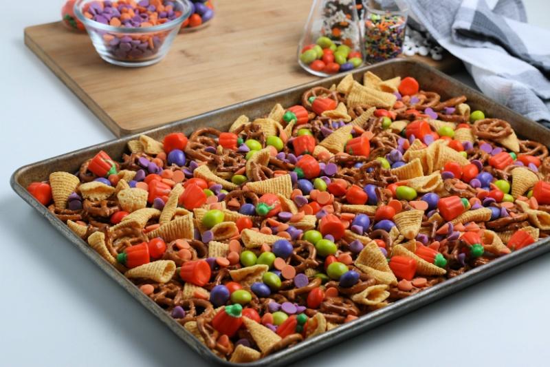 Halloween Snack Process 3
