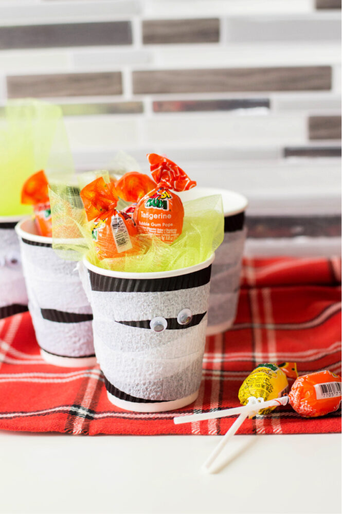 Kid Friendly Mummy Cup Craft