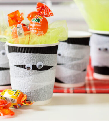 Mummy Candy Cups