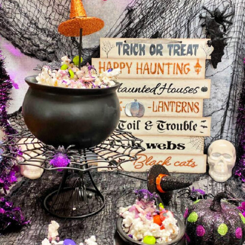 Witches Brew Popcorn