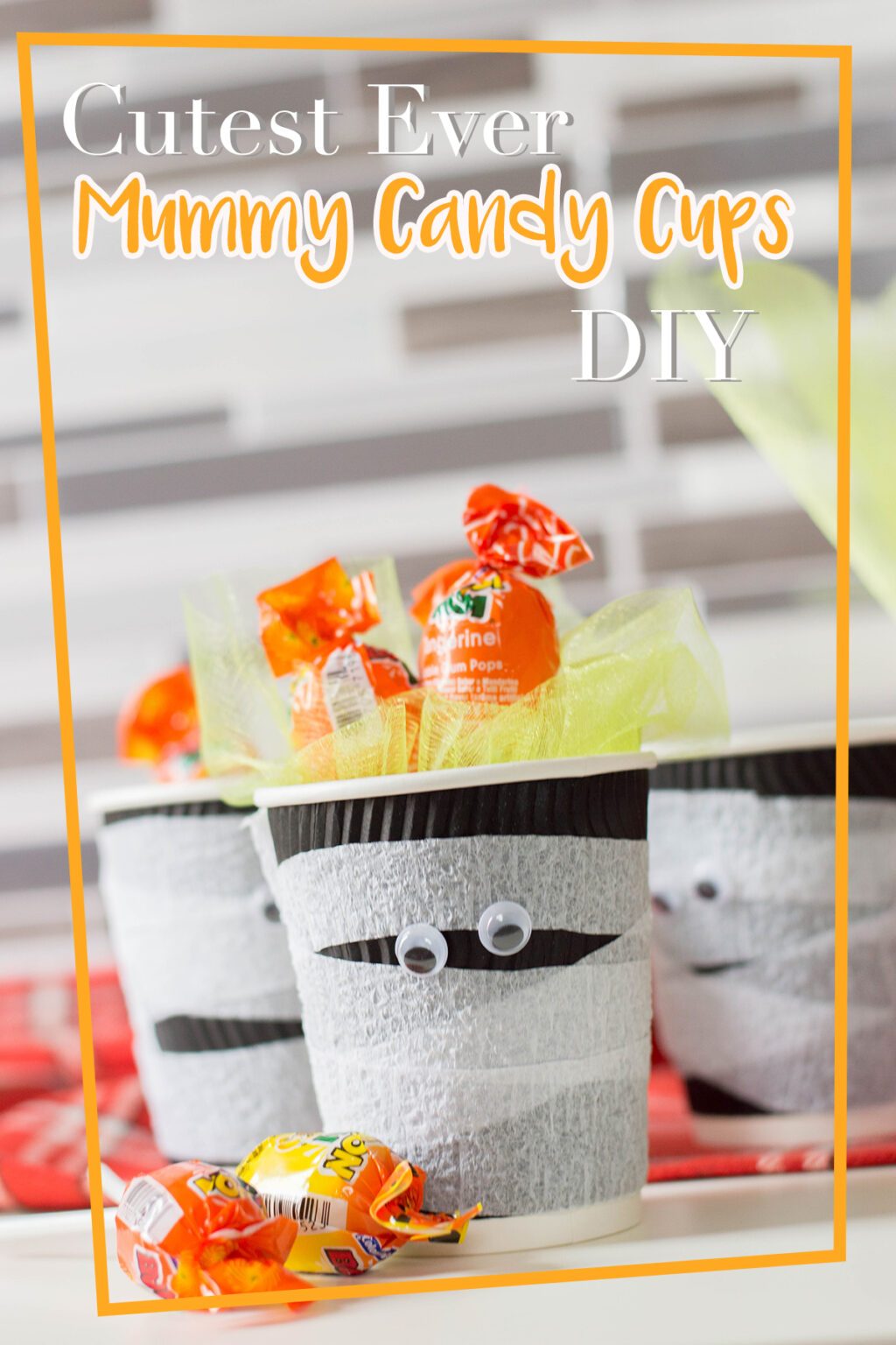 MUMMY CANDY CUPS Pinterest