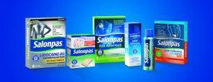 Salonpas® line of topical OTC pain relief products