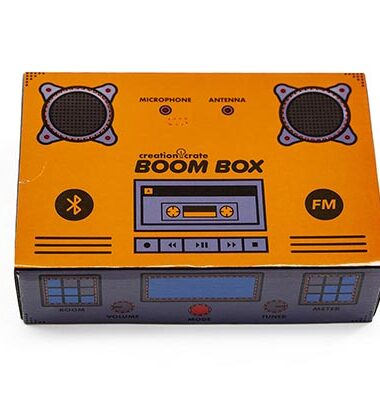 Creation Crate-Boom Box