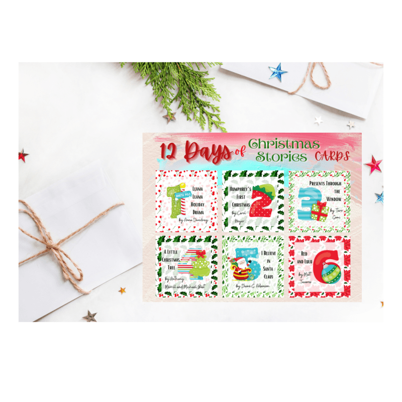 12 DAYS OF CHRISTMAS STORIES CARDS