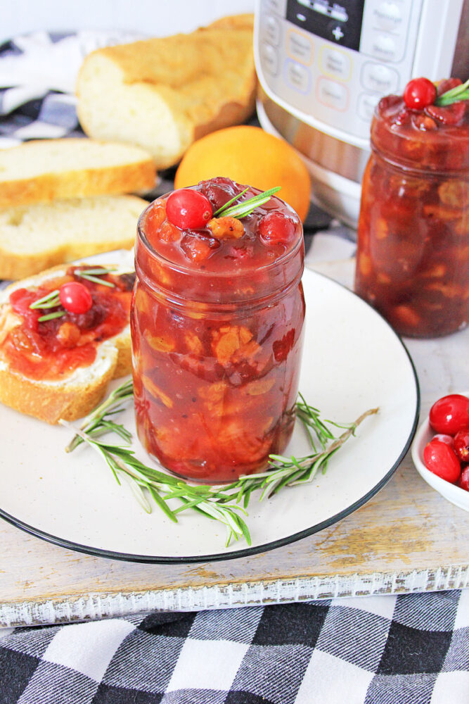 Instant Pot Orange Cranberry Chutney