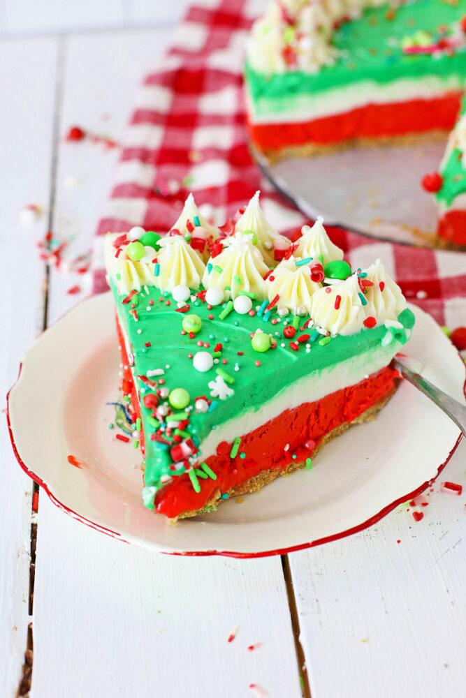 Christmas No bake Cheesecake