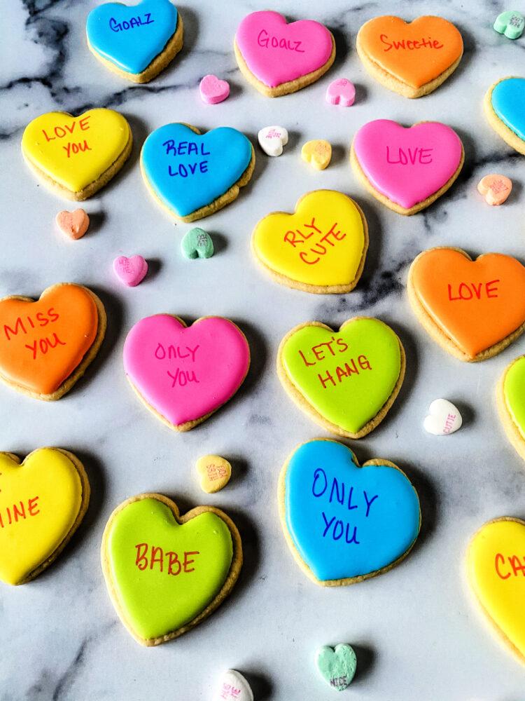 Conversation Hearts Recipe Tutorial