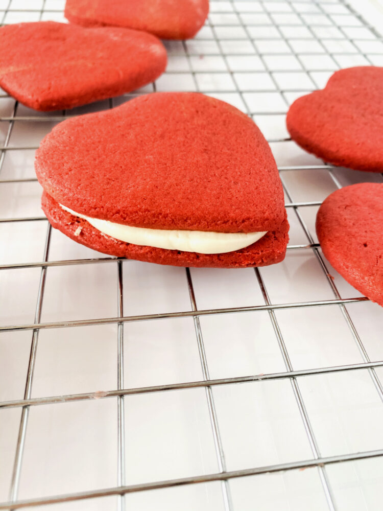 Roll Out Red Velvet Cookies