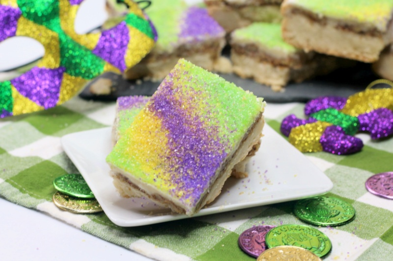 King Cake Bars