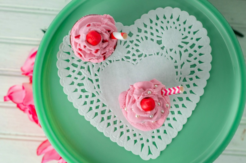Valentine's Faux Dessert Shakes