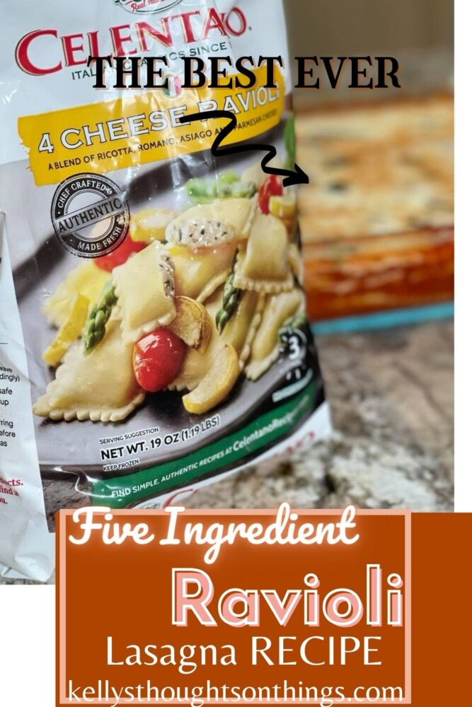 Five-ingredient Ravioli Lasagna