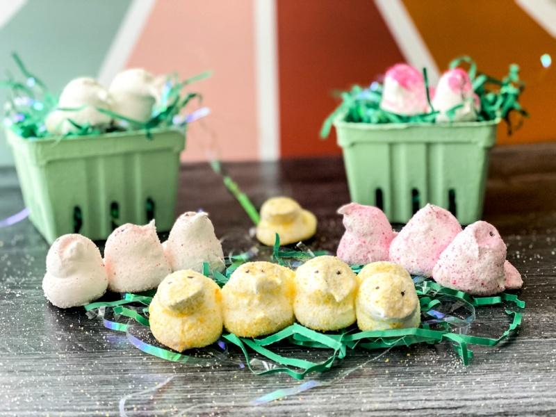 Homemade Peeps Marshmallows