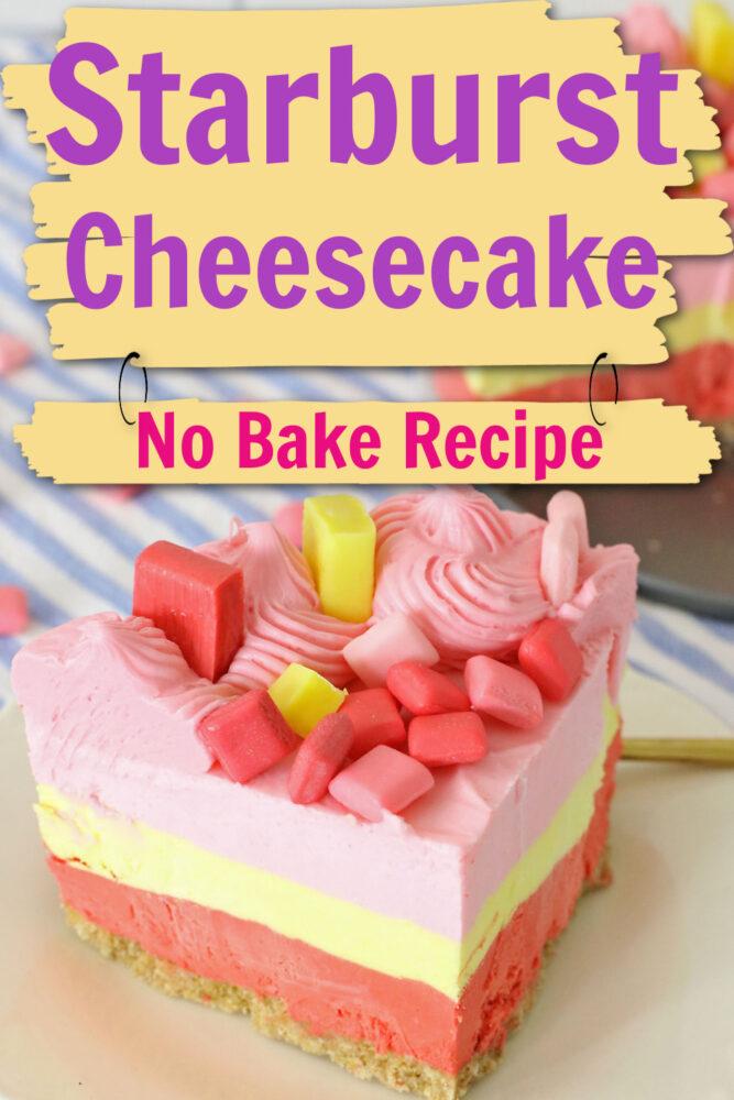 Starburst Cheesecake
