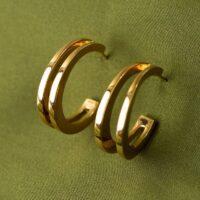 Hoop Earrings Lead The Gold Jewelry Fashion Scene