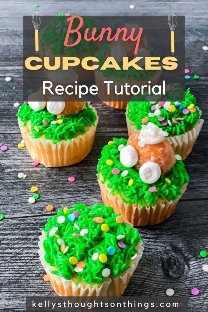 Bunny Cupcakes Recipe Tutorial