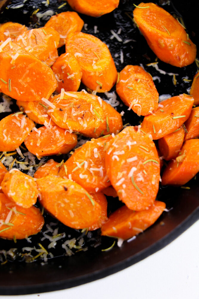 carrots with cheese