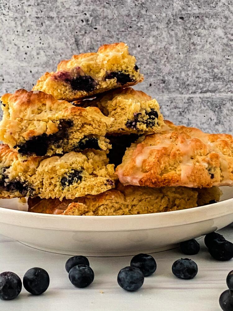 Gluten-Free Lemon Blueberry Scones