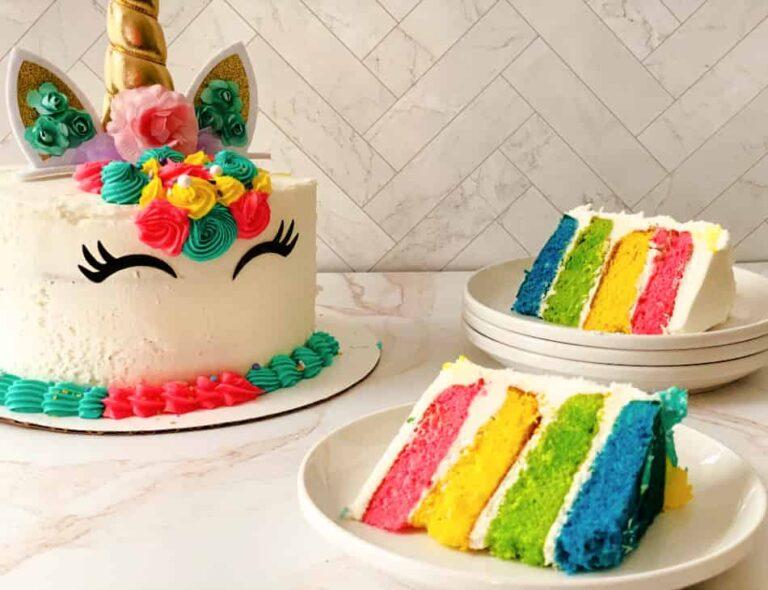 How to Make a Unicorn Cake: A Tutorial