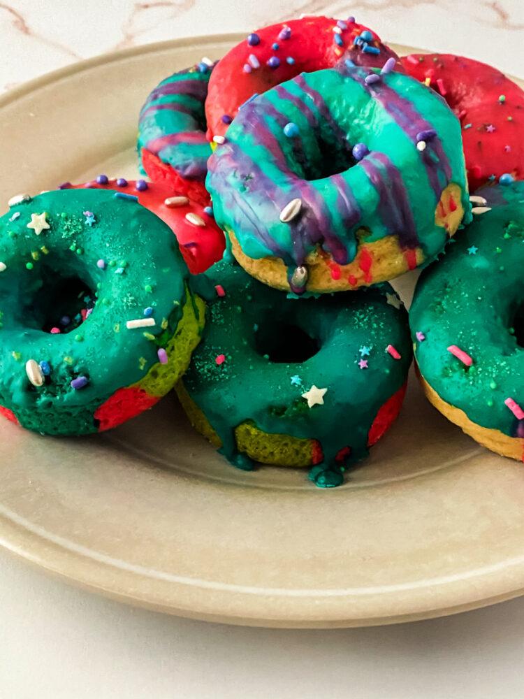 Unicorn Baked Cake Donut