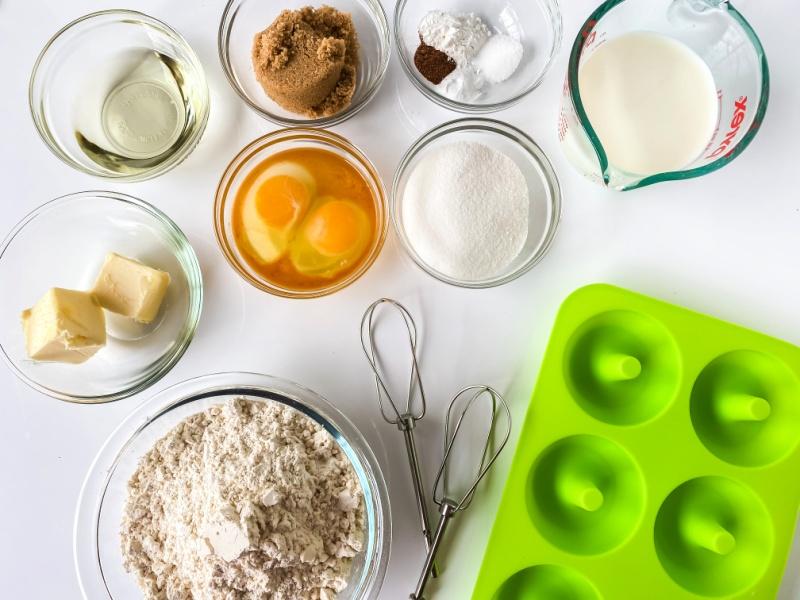 Donut ingredients