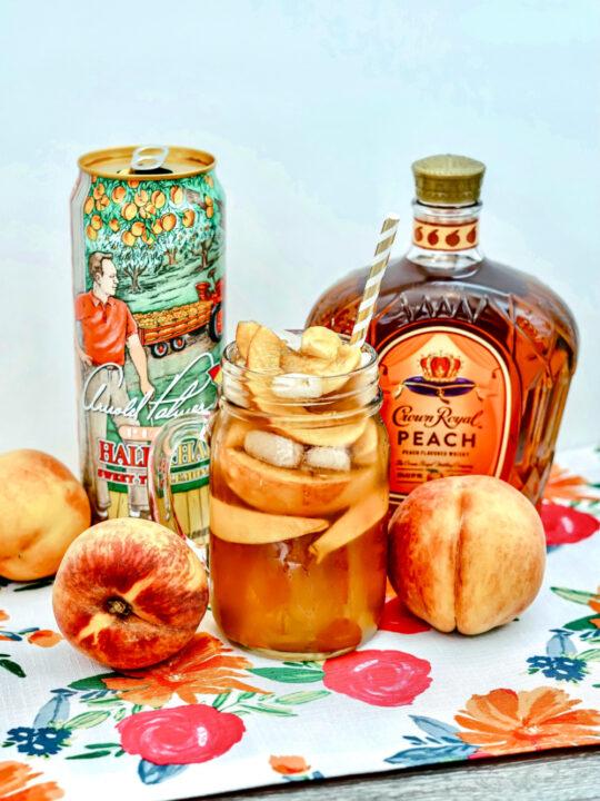 Crown Royal Peach Tea Drink