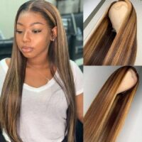 Everything About Honey Brown Highlight Wig