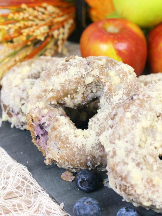 Blueberry Donut Recipe