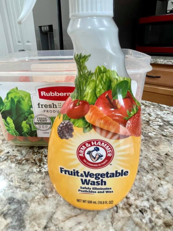 Clean Your Fruits & Vegetables With The Power Of Arm & Hammer
