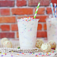Copycat Starbucks Birthday Cake Frappuccino