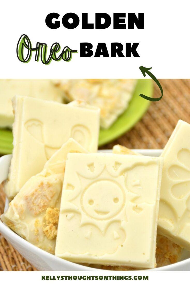 Golden Oreo Bark
