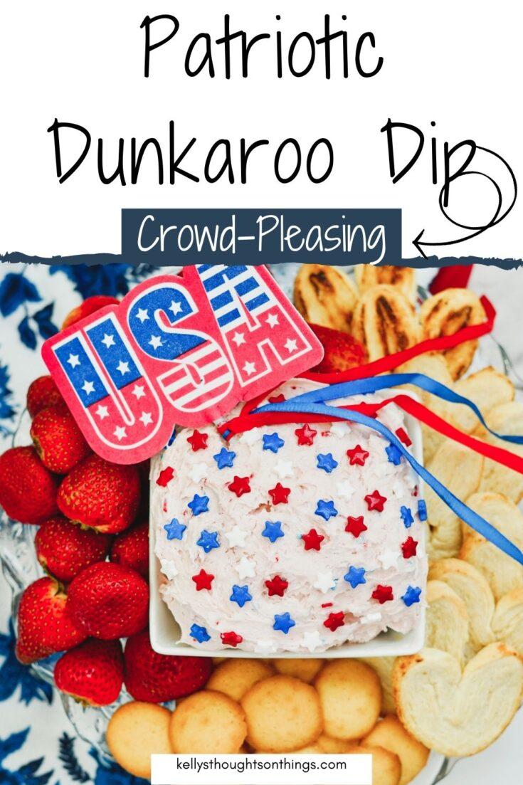Patriotic Dunkaroo Dip