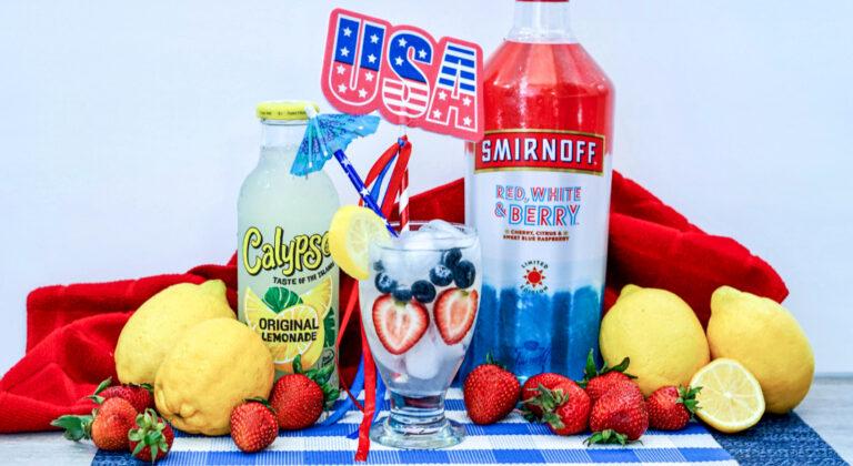 Patriotic Lemonade Recipe – The Ultimate 4th of July Drink