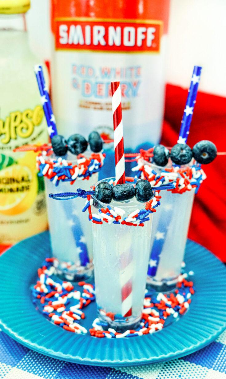 Patriotic Lemonade Shooters