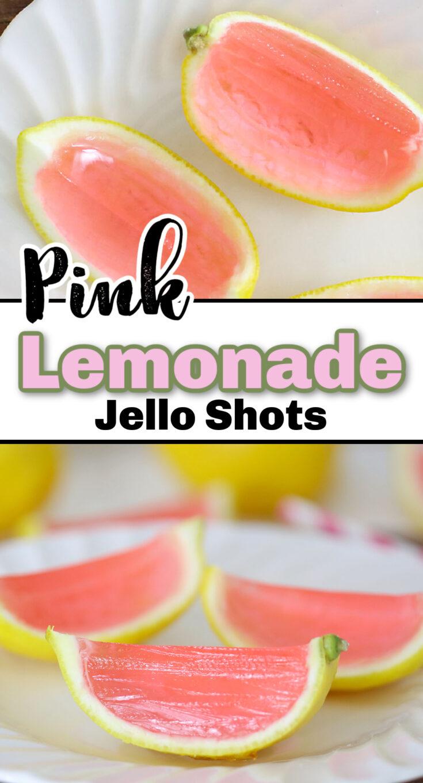 Pink Lemonade Jello Shots