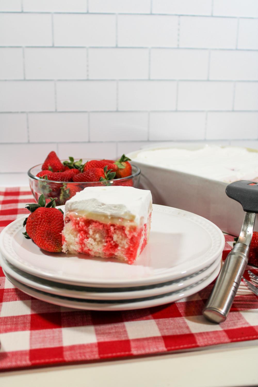 Cheesecake Poke Cake