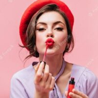 The Power Of Colored Lipstick On Photos