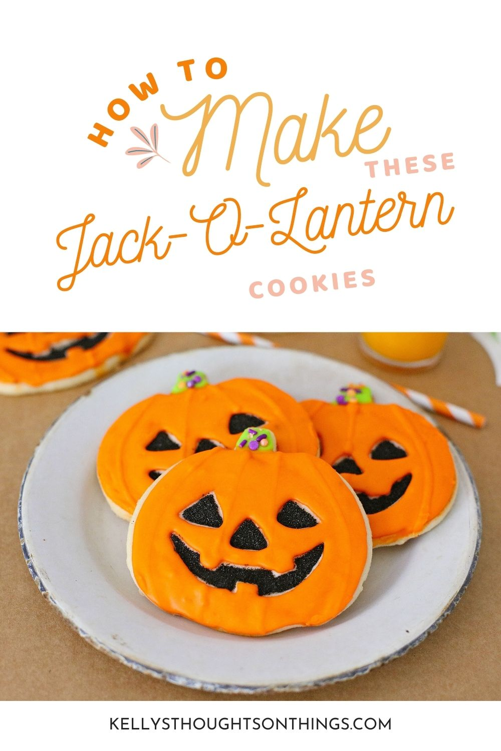 How To Make These Amazing Jack-O-Lantern Cookies