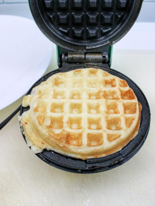 Absolutely Amazing Peach Pecan Waffles Recipe