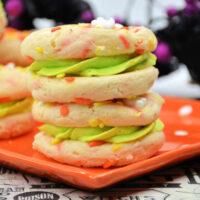 Halloween Spooky Cake Cookies Recipe