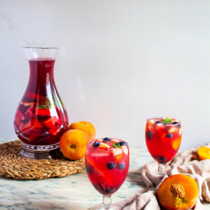 Bloody Halloween Cocktail in a glass