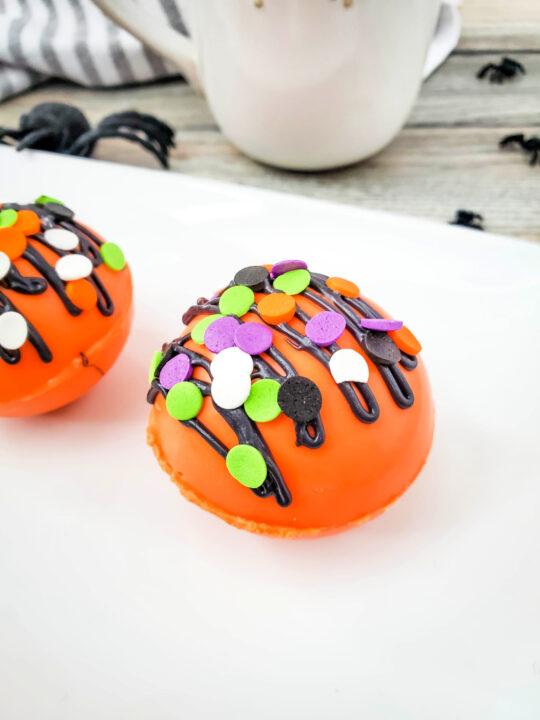 Halloween Cocoa Bombs