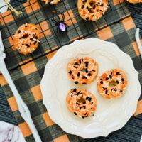 Air Fryer Halloween Donuts