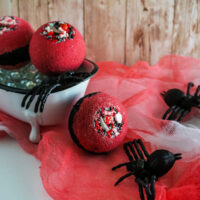 Halloween Bloody Bath Bombs