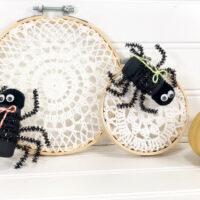 LACE SPIDERWEB HOOP CRAFT