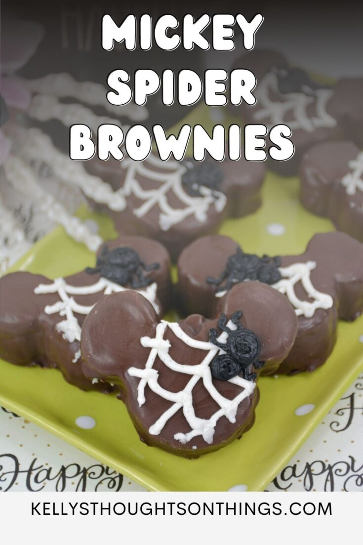 Mickey Spider Brownies