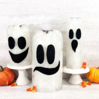 Recycled Bottle Ghost Craft